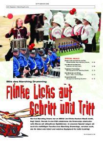 Stile des Marching Drumming