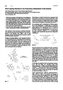 Stille Coupling Reactions in the Preparation of Substituted Trienic Systems