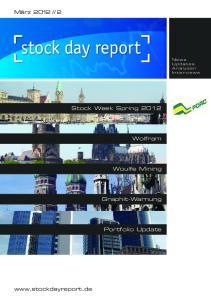 Stock Week Spring 2012