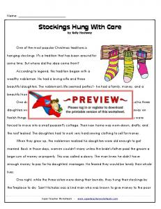 Stockings Hung With Care by Kelly Hashway