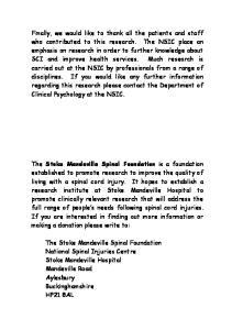 Stoke Mandeville Spinal Foundation