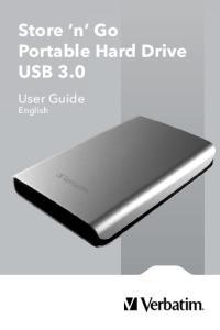 Store n Go Portable Hard Drive USB 3.0