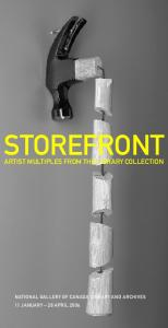 STOREFRONT ARTIST MULTIPLES FROM THE LIBRARY COLLECTION
