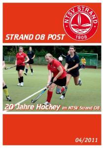 STRAND 08 POST. 20 Jahre Hockey im NTSV Strand 08