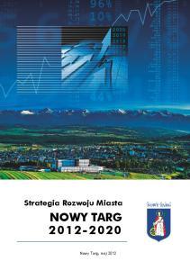 Strategia Rozwoju Miasta NOWY TARG