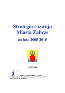 Strategia rozwoju Miasta Zabrze