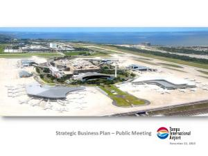 Strategic Business Plan Public Meeting