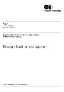 Strategic flood risk management
