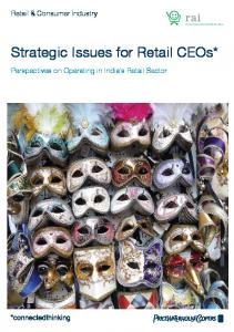 Strategic Issues for Retail CEOs*