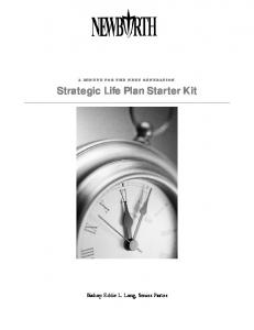 Strategic Life Plan Starter Kit