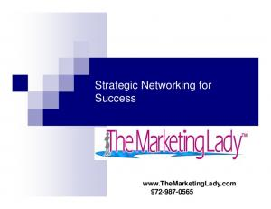 Strategic Networking for Success