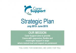 Strategic Plan July June 2015