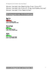 Strategiekreis Architekten