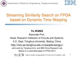 Streaming Similarity Search on FPGA based on Dynamic Time Warping
