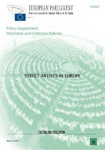 STREET ARTISTS IN EUROPE