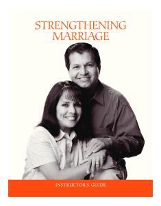 STRENGTHENING MARRIAGE