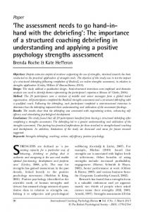 STRENGTHS are defined as a preexisting