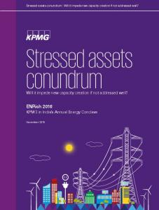 Stressed assets conundrum