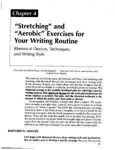 Stretching and Aerobic Exercises for Your Writing Routine