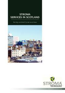 STROMA SERVICES IN SCOTLAND