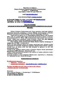 strona internetowa Kolegium: kolegium.sum.edu.pl