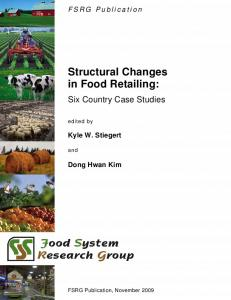 Structural Changes in Food Retailing: