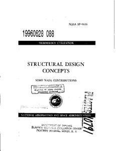 STRUCTURAL DESIGN CONCEPTS