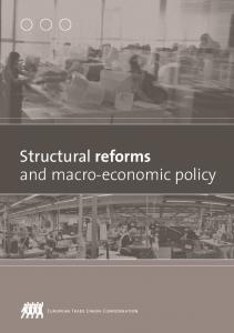Structural reforms and macro-economic policy