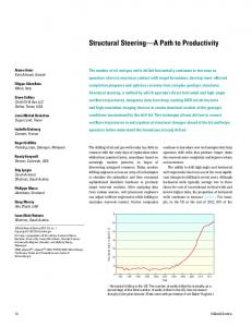 Structural Steering A Path to Productivity