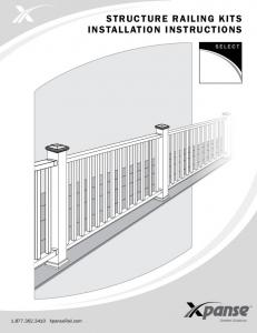 Structure Railing Kits