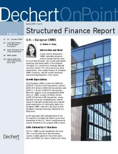 Structured Finance Report