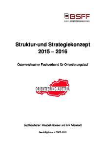 Struktur-und Strategiekonzept