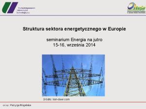 Struktura sektora energetycznego w Europie
