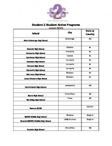 Student 2 Student Active Programs