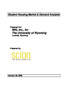 Student Housing Market & Demand Analysis