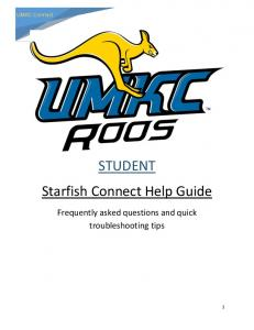 STUDENT Starfish Connect Help Guide