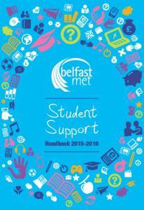 Student Support Handbook