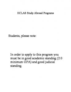 Students, please note: