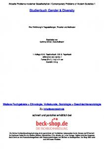 Studienbuch Gender & Diversity