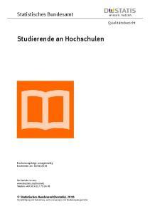 Studierende an Hochschulen