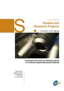 Studies and Research Projects