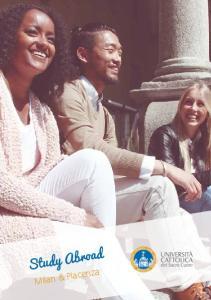 Study Abroad. Milan & Piacenza