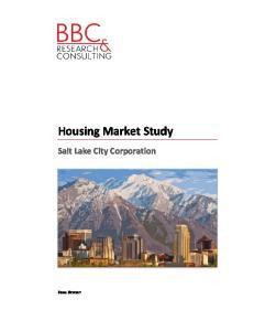 Study. Housing. Market. Salt
