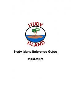 Study Island Reference Guide
