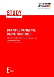 STUDY Nr. 331 September 2016