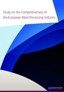 Study on the Competitiveness of the European Meat Processing Industry