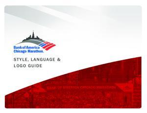 STYLE, LANGUAGE & LOGO GUIDE