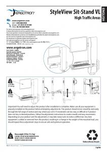 StyleView Sit-Stand VL