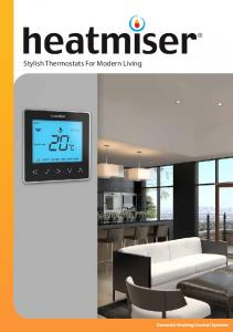 Stylish Thermostats For Modern Living