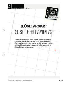 SU SET DE HERRAMIENTAS